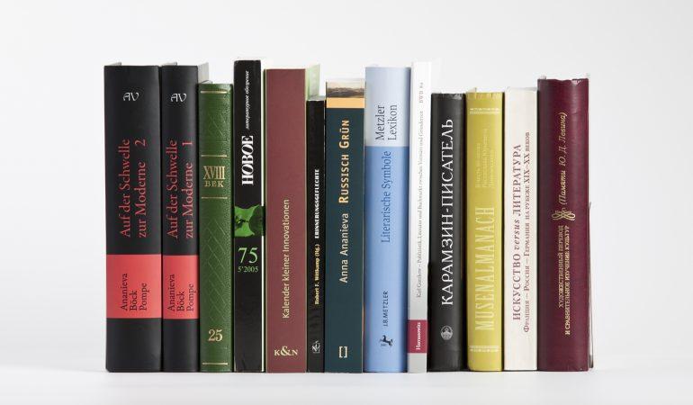 Arbeitsschwerpunkt Literaturwissenschaft