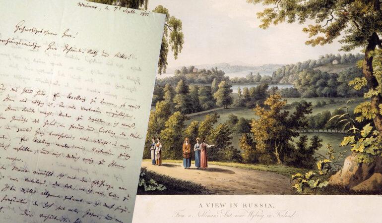 Briefwechsel zwischen August Kotzebue und Ludwig Heinrich Nicolay